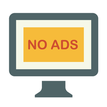 No adverts