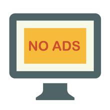 No adverts