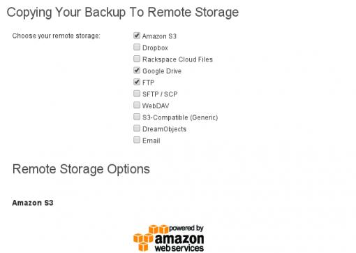 Multiple storage providers