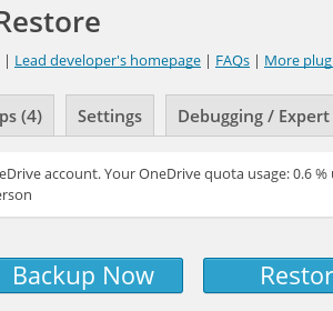 OneDrive connected