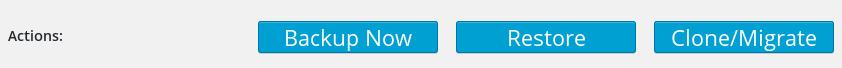 Clone button