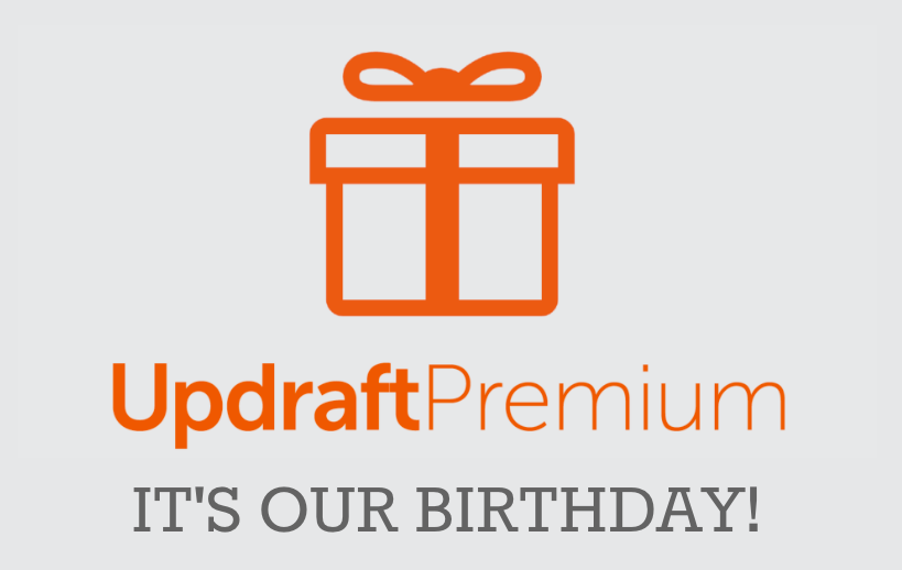 UpdraftPlus' 4th Birthday Offer!